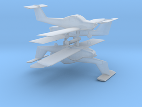 Piper Tomahawk Set - Z scale in Frosted Ultra Detail