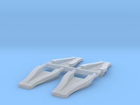 1/12 Scale 2 inch NACA Ducts in Frosted Ultra Detail