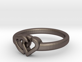 Entangled Love Small Sz20 in Stainless Steel