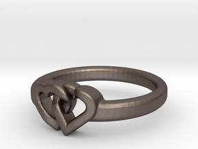 Entangled Love Small Sz19 in Stainless Steel