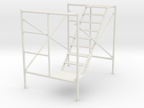 1:24 Scaffolding 2 in White Strong & Flexible