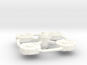 Malkorian Remote Star Base in White Strong & Flexible Polished