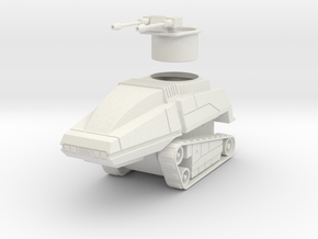GV06 28mm Sentry Tank in White Strong & Flexible