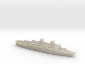 USS West Point in White Acrylic