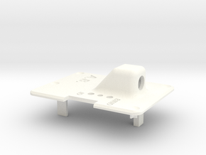 Backplate for Orange RX Transmitter Module in White Strong & Flexible Polished