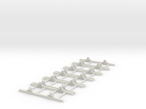 Sn2 Underframe 6ft wb x6 in White Strong & Flexible