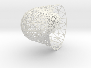 Shell mesh in White Strong & Flexible
