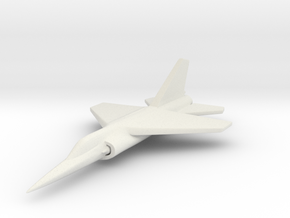 1/285 (6mm) Dassault Mirage F1  in White Strong & Flexible