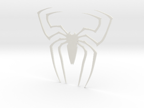 Original Spider Symbol 2 in White Strong & Flexible