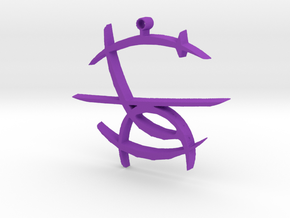 Mark of Shame in Purple Strong & Flexible Polished