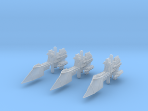 "Imperial Navy ""Sword"" Frigates (3) in Frosted Ultra Detail"