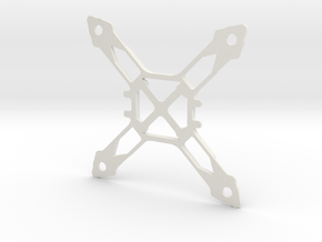 120mm Superlight Quadcopter in White Strong & Flexible