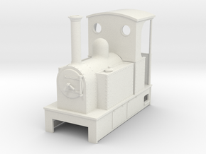 O9 Side tank with open back cab  in White Strong & Flexible