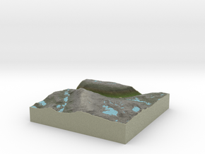 Terrafab generated model Mon Mar 10 2014 11:39:52  in Full Color Sandstone