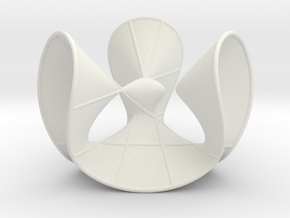 Cubic Surface KM 12 in White Strong & Flexible