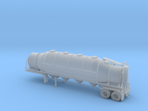 N scale 1/160 Heil 1625V Dry Bulk, Trailer 10b in Frosted Ultra Detail
