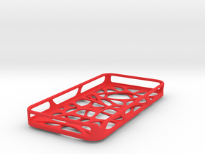iPhone 4 / 4s case - Cell 2 -Customized in Red Strong & Flexible Polished