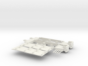 Fahrgestell M-Wagen in White Strong & Flexible