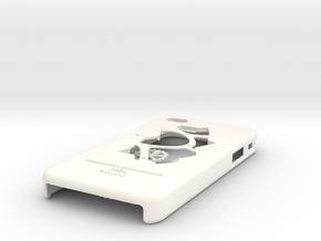 Clockwork iPhone 4/4S Case with Moving Cogs in White Strong & Flexible Polished