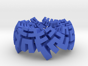 Incendia Ex Voxel Exported mesh in Blue Strong & Flexible Polished
