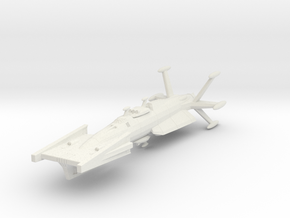 EDSF Torpedo Frigate in White Strong & Flexible