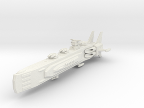 Shadow Rift Mechanized Empire Battleship in White Strong & Flexible