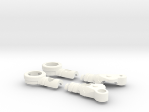 Fighter Variable Zero Right in White Strong & Flexible Polished