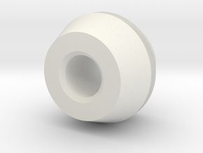 ElectricalMountingGrommet in White Strong & Flexible