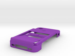 Ultimate Minimalistic Case with bottle opener in Purple Strong & Flexible Polished