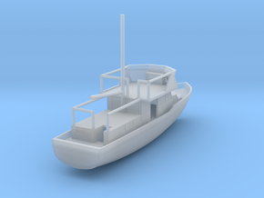 Fishing Boat - Zscale in Frosted Ultra Detail