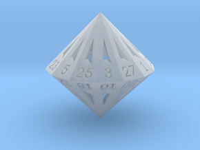 28 Sided Die - Small in Frosted Ultra Detail
