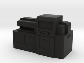WOPR Computer, Small in Black Strong & Flexible