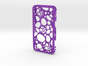 IPhone 4/4S - Cell Case in Purple Strong & Flexible Polished