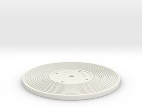Double sided - Fisher Price record (5mm) in White Strong & Flexible