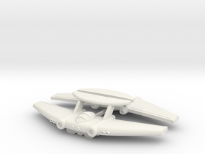 Chipmunk Space Fighter in White Strong & Flexible