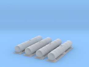 Bogey Tankers 4pack in Frosted Ultra Detail
