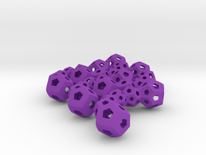 30-Cell Puzzle in Purple Strong & Flexible Polished