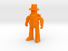 "Ranger Guy 2"" Figurine (Best of All the Guys!) in Orange Strong & Flexible Polished"