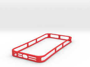 HeatLock (iPhone 5) in Red Strong & Flexible Polished