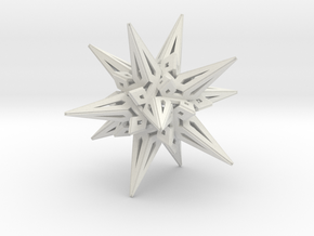 Stellated Icos in White Strong & Flexible