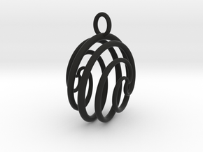 Ball Ornament in Black Strong & Flexible