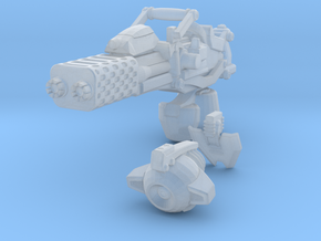 advanced flame cannon 001a carried with firecontro in Frosted Ultra Detail