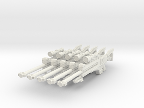 advanced gyrojet sniper 001a basic in White Strong & Flexible