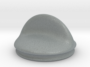 Tank cap 001 in Polished Metallic Plastic