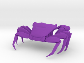 Articulated Crab (Pachygrapsus crassipes) in Purple Strong & Flexible Polished