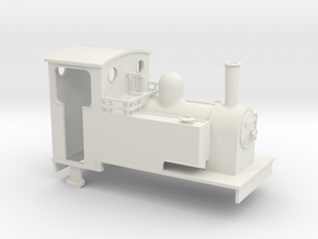 On16.5 Kerr Stuart 0-4-0/0-4-2t Side tank loco in White Strong & Flexible