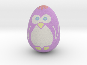 Egguin (Created using Magic 3D Easter Egg Painter) in Full Color Sandstone