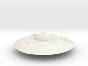Crypto Saucer in White Strong & Flexible