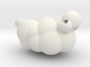 Sheep from LEO the Maker Prince: body section in White Strong & Flexible