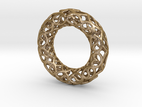 Torus 2B in Polished Gold Steel